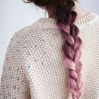 The Pastel Popping Braid